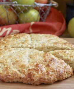 apple scones on board