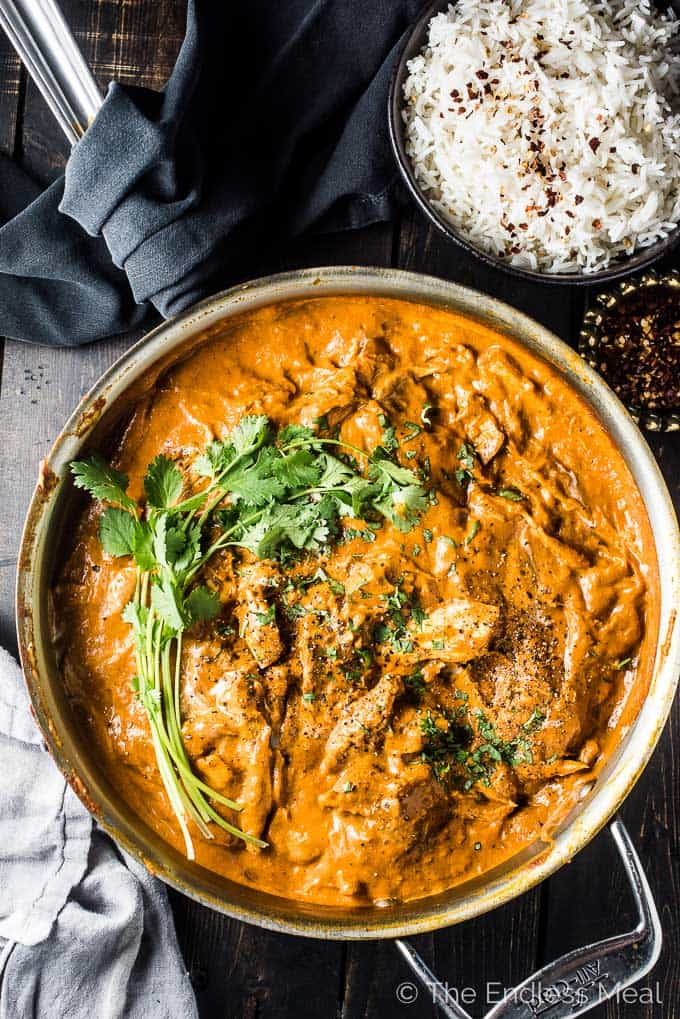 butter turkey curry
