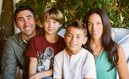 Lanz family photo