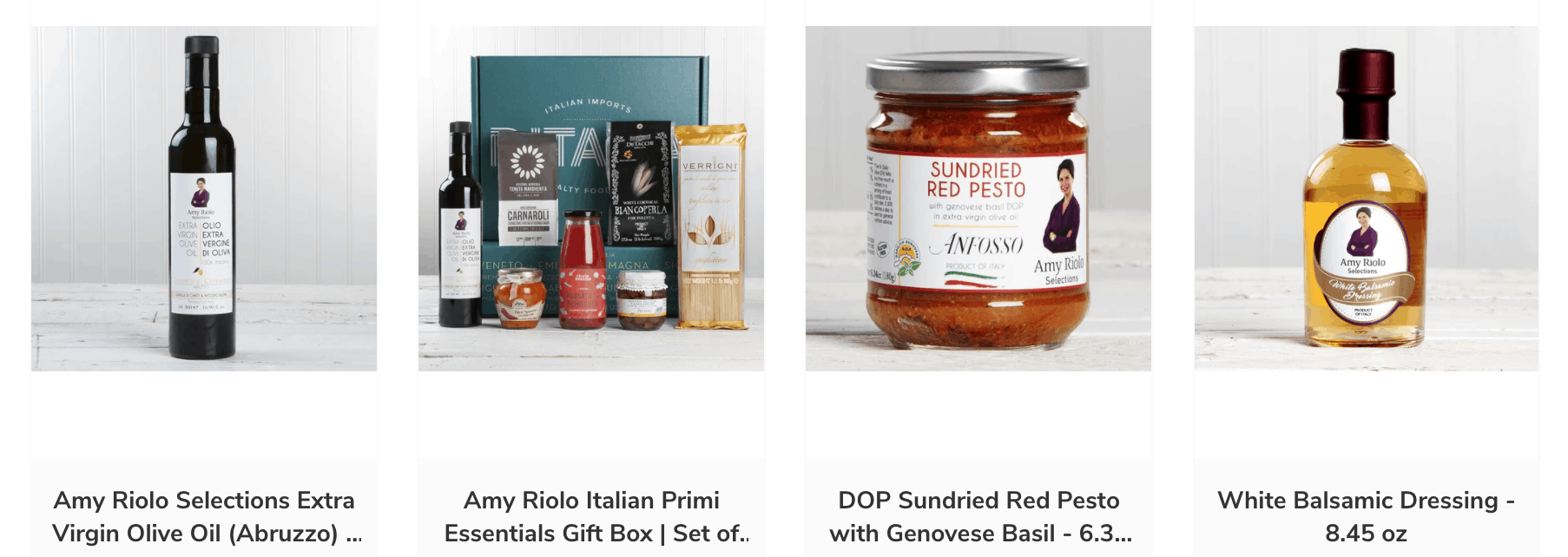 Amy Riolo's products