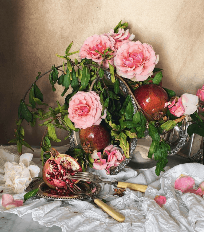 Lorna Lopez Photo of still life with flowers