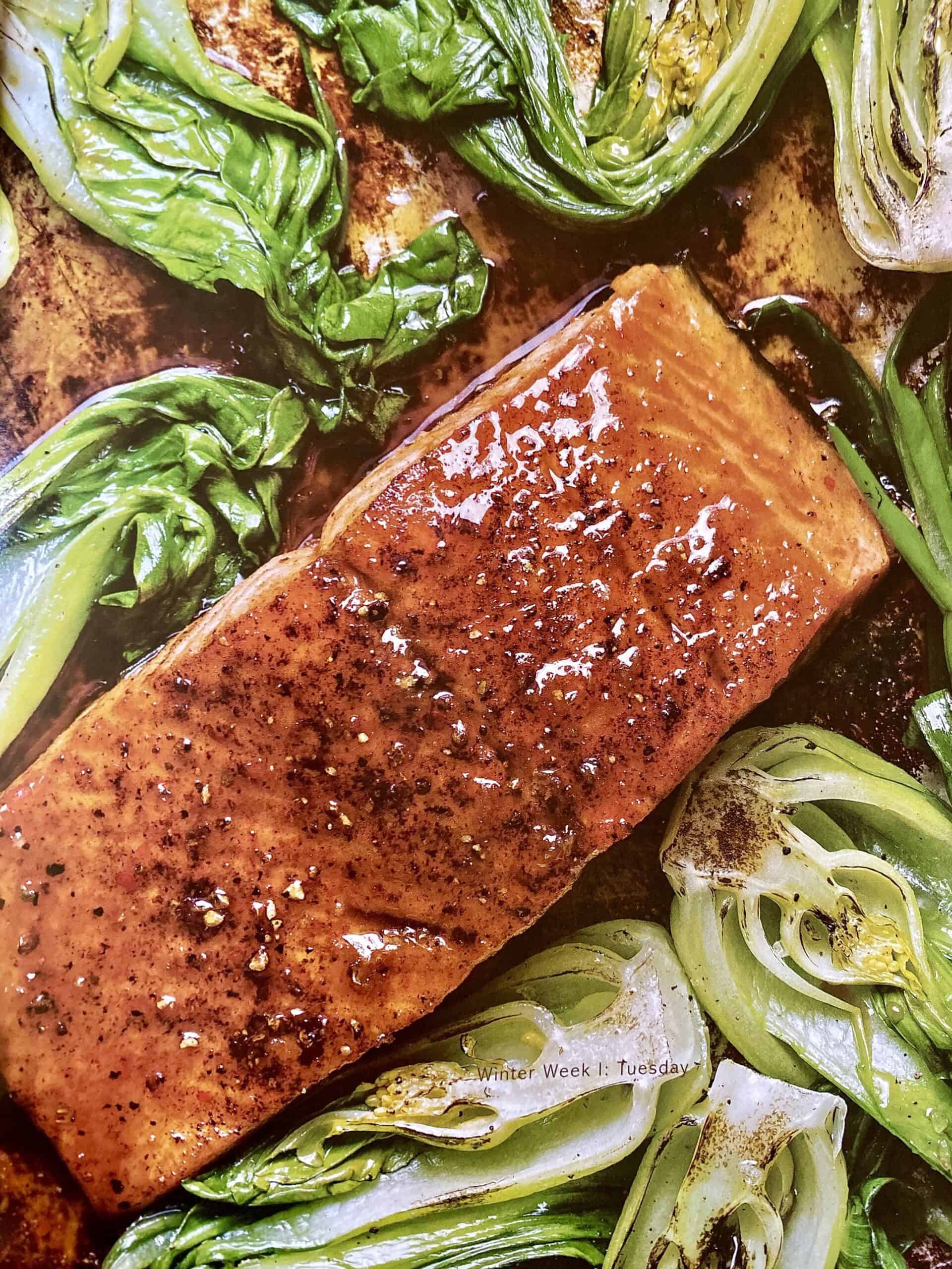 Trent Lanz maple glazed salmon photo