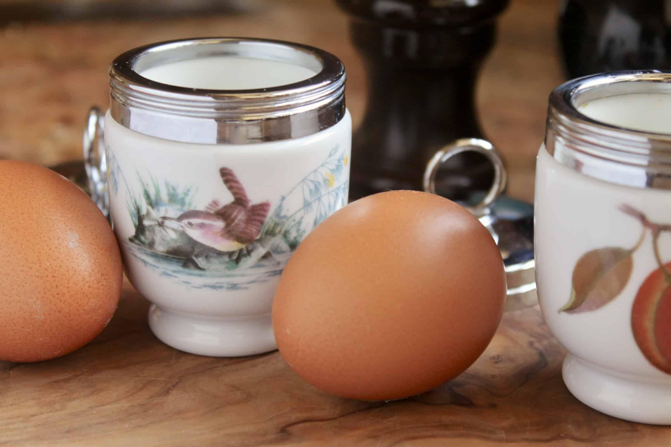 egg coddler and egg