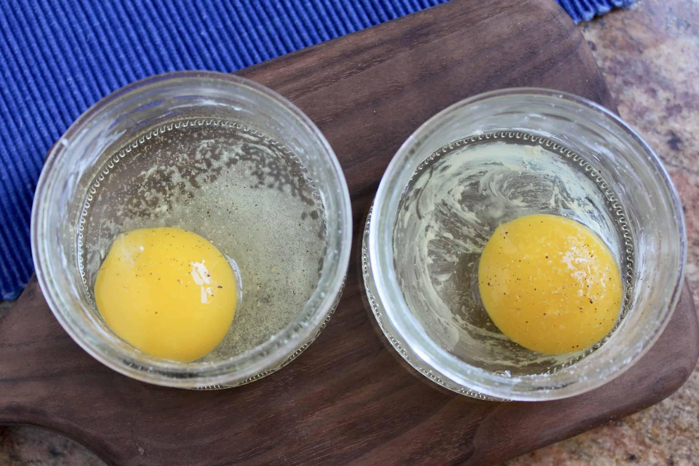 eggs in ramekins