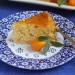 Kumquat Cake (with Orange Glaze)