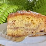 Rhubarb Cake (with Streusel Topping)
