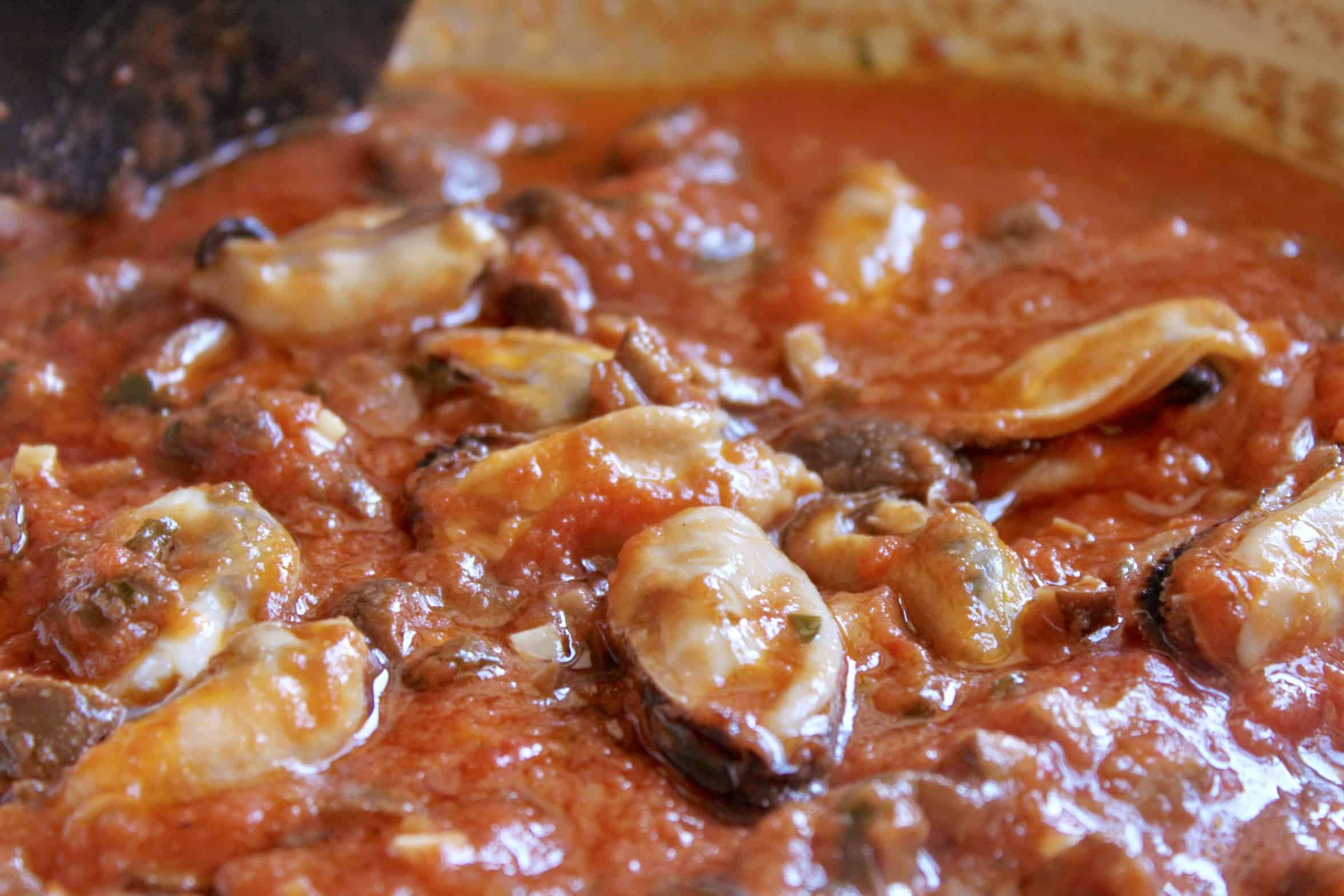 mussels pasta sauce
