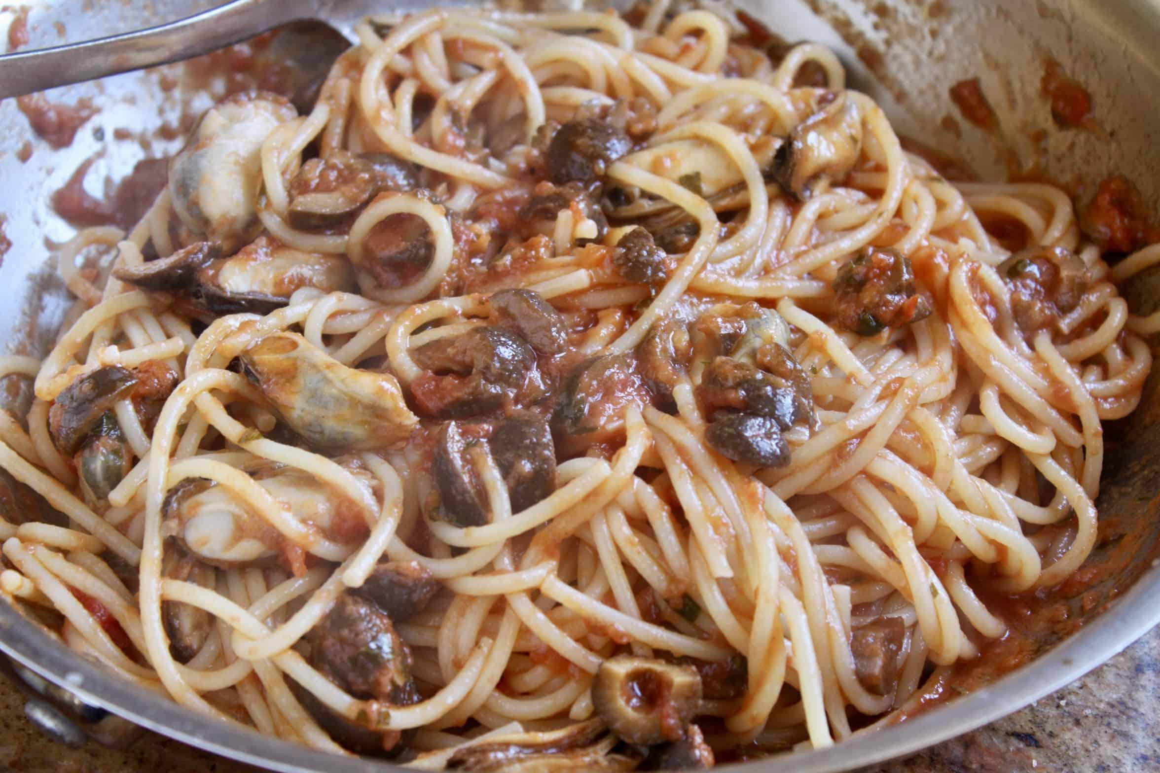 mussel pasta