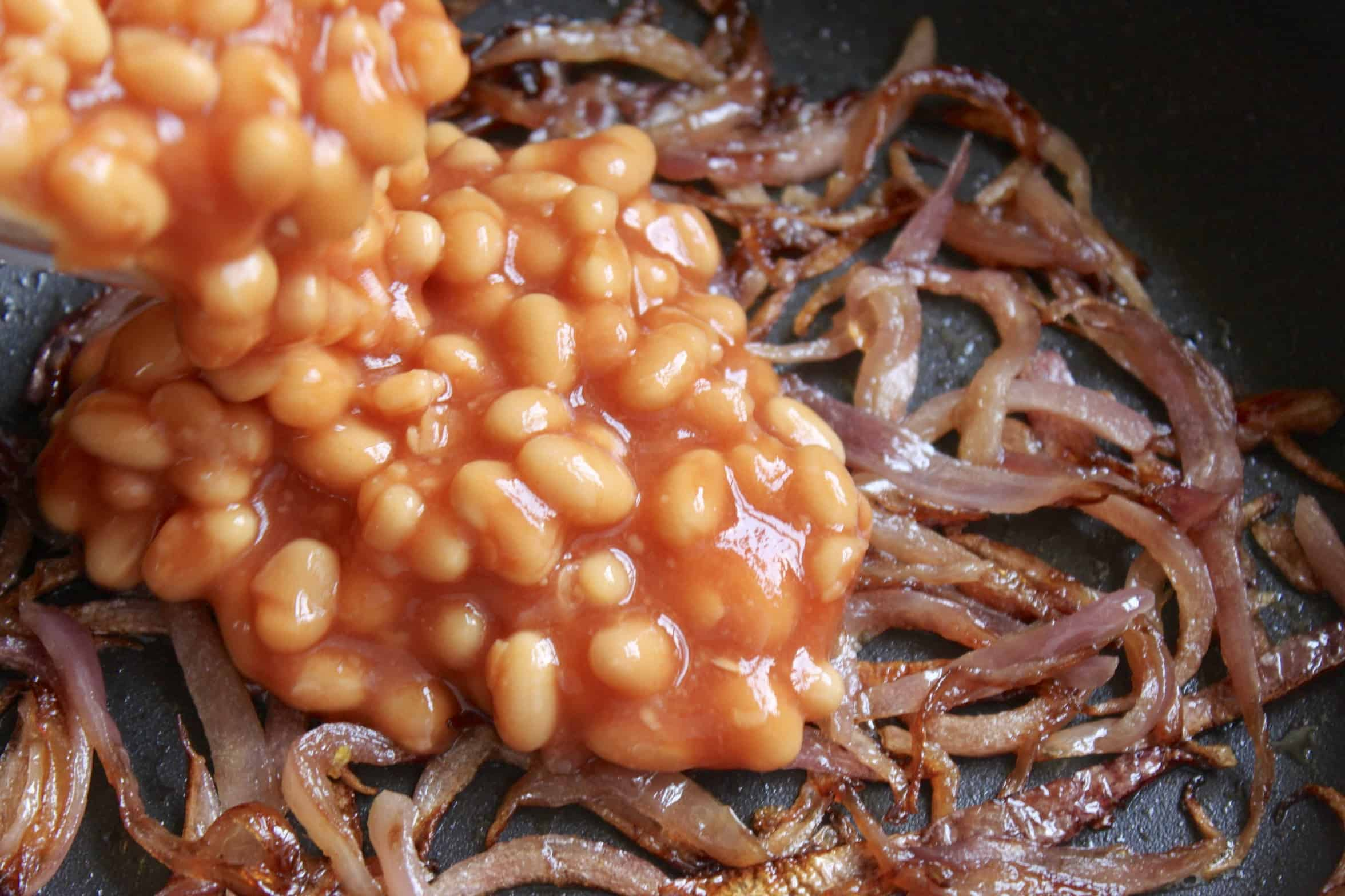 beans with onions