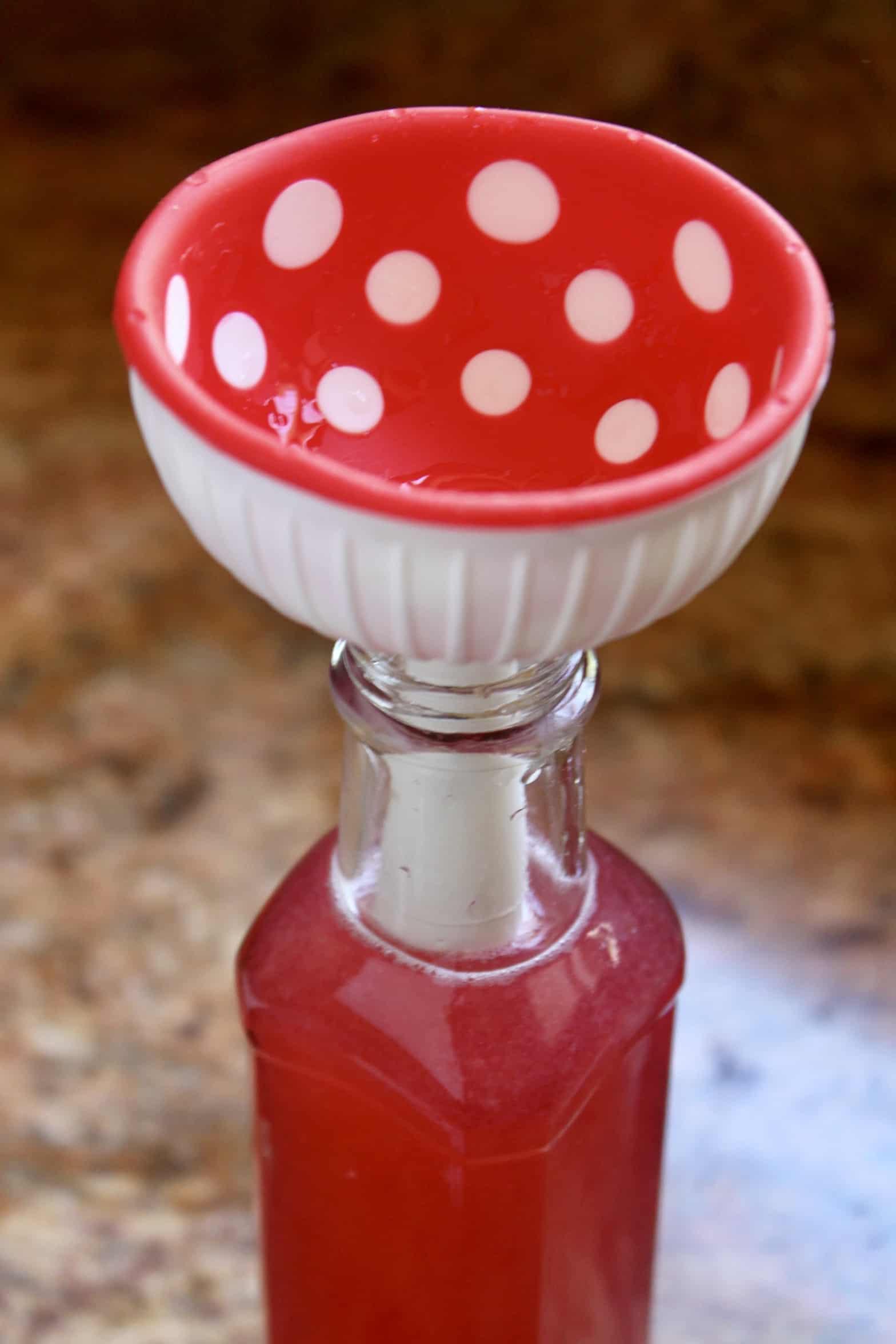 funnel in a bottle