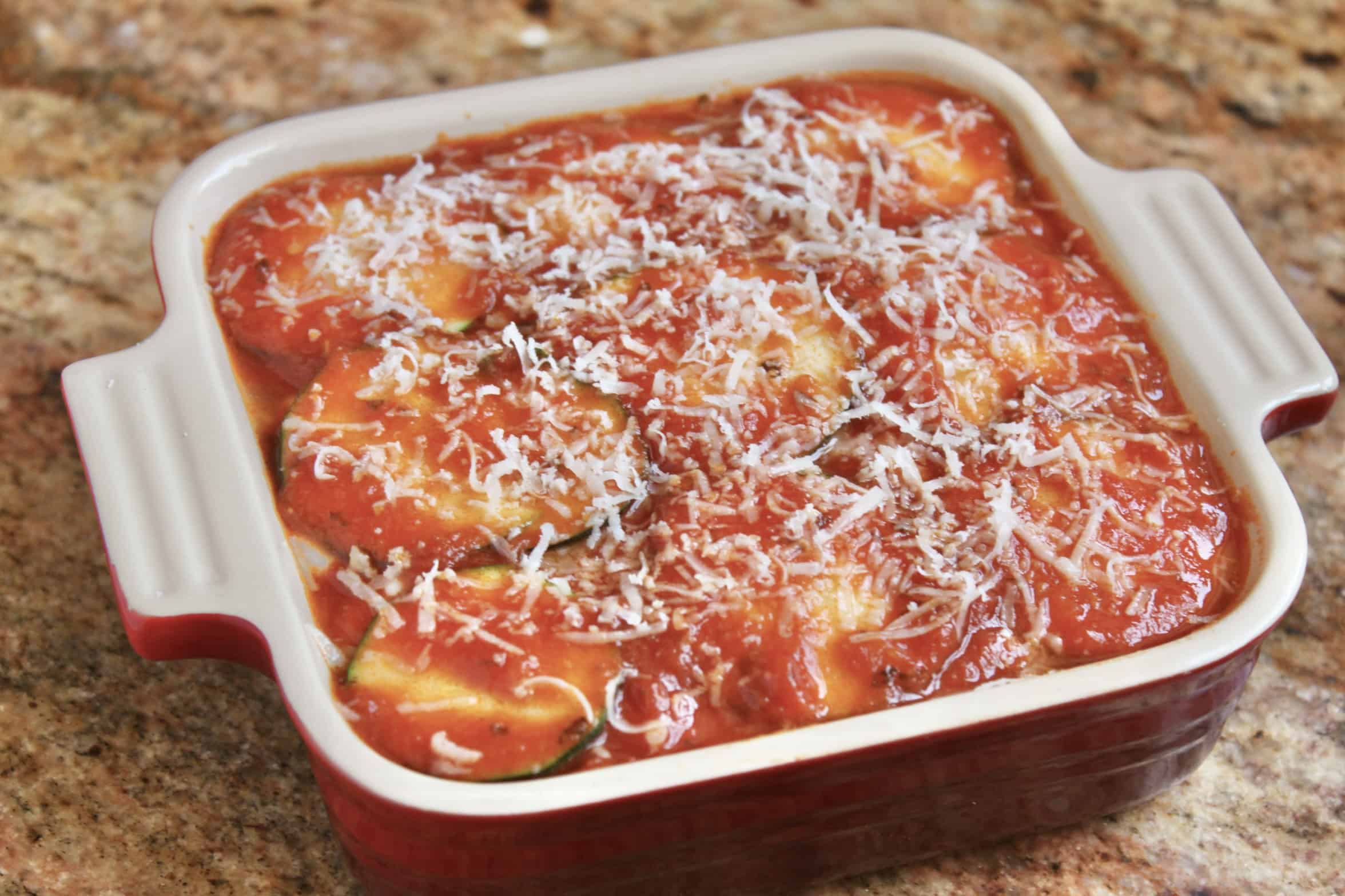 mini zucchini lasagna