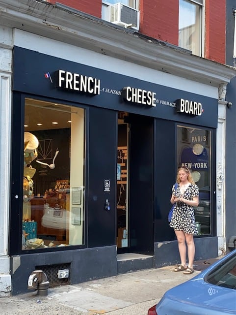 French Cheese Board NYC