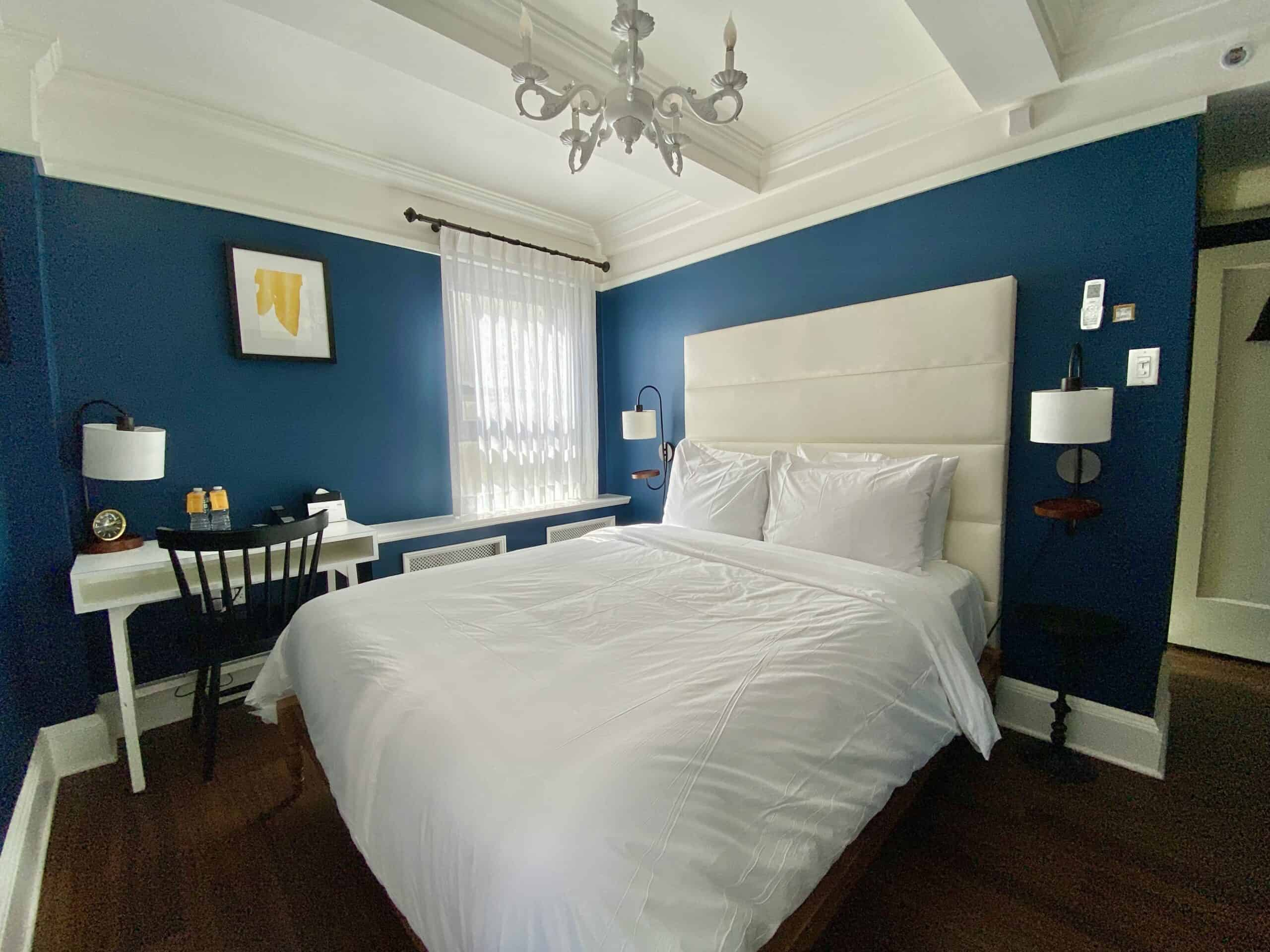 room in the Franklin Hotel