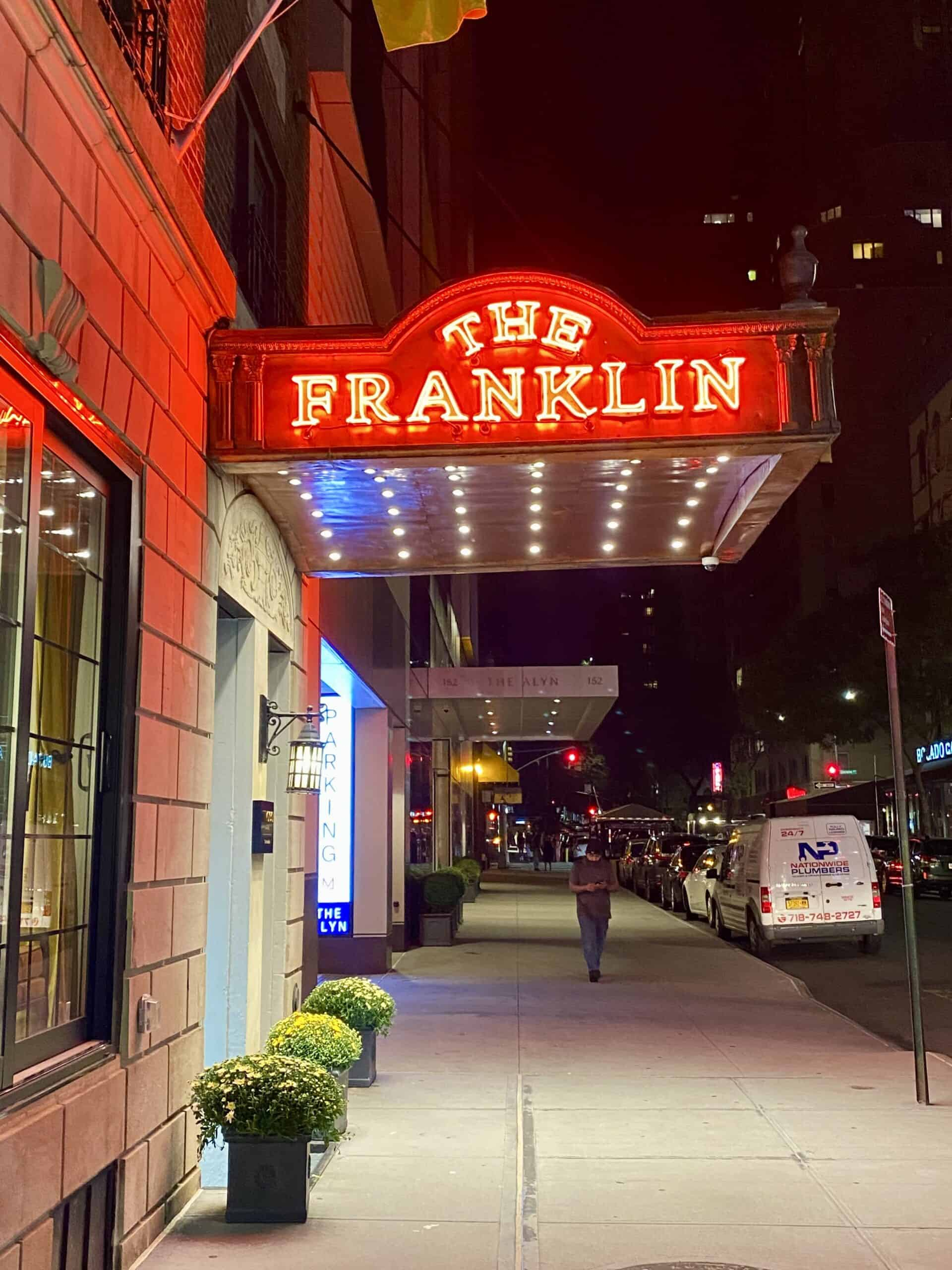 marquee in the Upper East Side