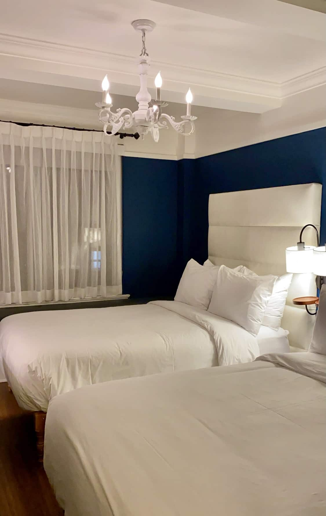 double room at the Franklin Hotel